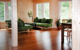 Interiér drevostavieb